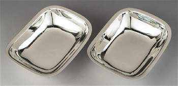 2 Tiffany & Co. Sterling Bowls