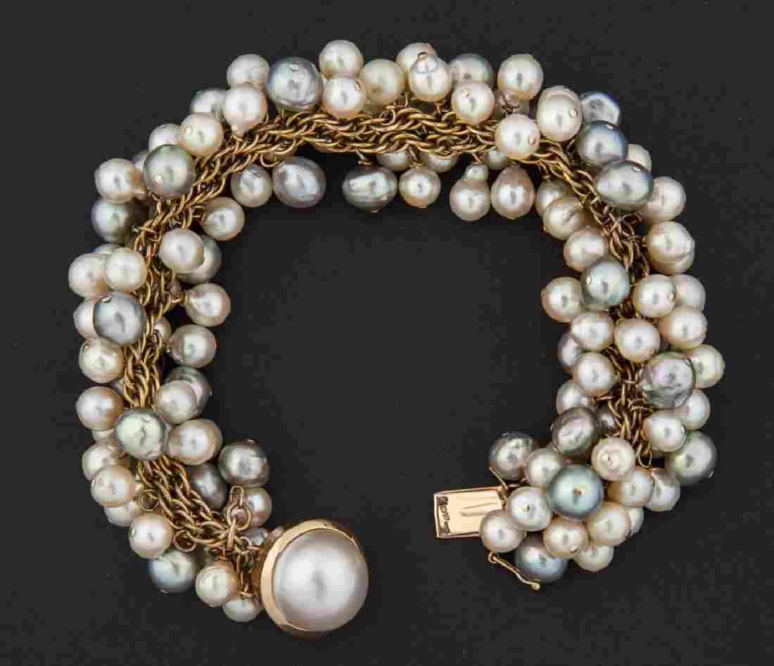 14K Akoya Pearl Bracelet