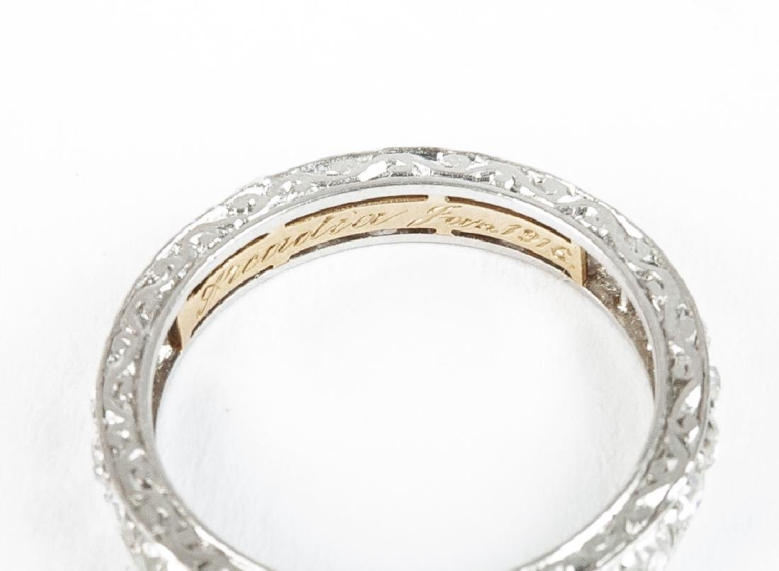 Platinum .81 CTW Diamond Eternity Ring - 3