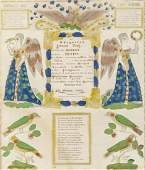 Blumer & Leisenring 19th C. Fraktur