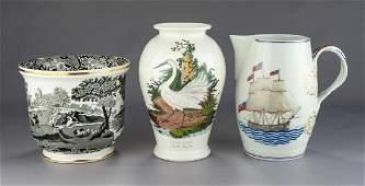 3 Pcs Ceramics Incl Copeland Spode