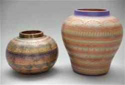 2 Pieces Navajo Pottery