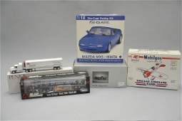 5 Die Cast Trucks and Cars
