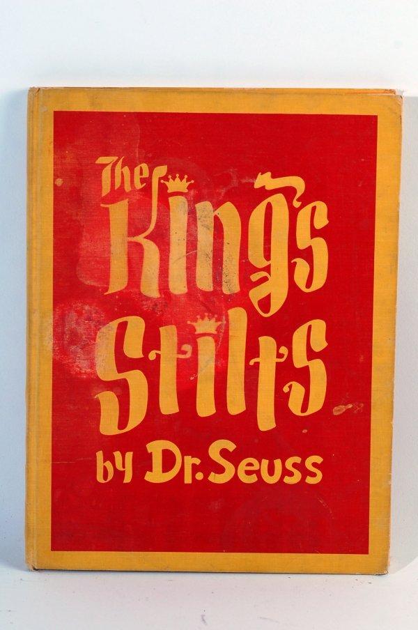 1: 1939 Autographed Dr. Seuss Book The King's Stilts