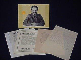 4: Leon Trotsky 1930 TLS