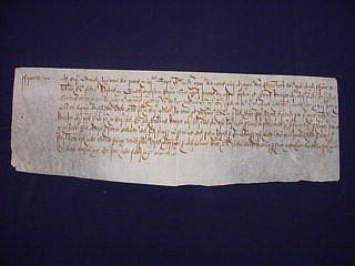 16: 1601 Document During Reign of Elizabeth I
