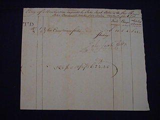 17: John Jacob Astor 1798 Signed Document