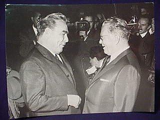 22: Leonid Ilyich Brezhnev Signed Photograph