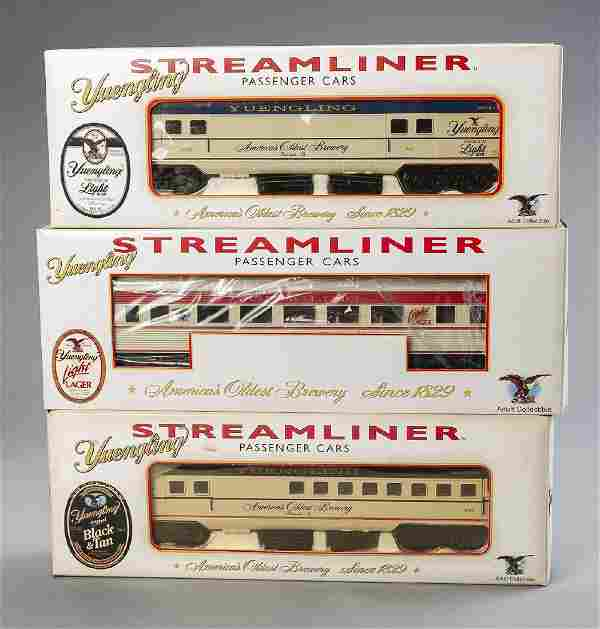 8 Yuengling Streamliner Passenger Cars in OBs