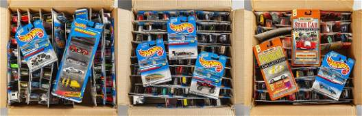 Approx 200 Mattel Hot Wheels Toys in OBs
