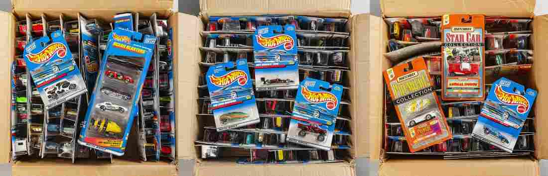 Approx. 200 Mattel Hot Wheels Toys in OBs