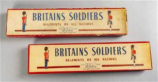 2 Britains Toy Soldier Sets In OBs