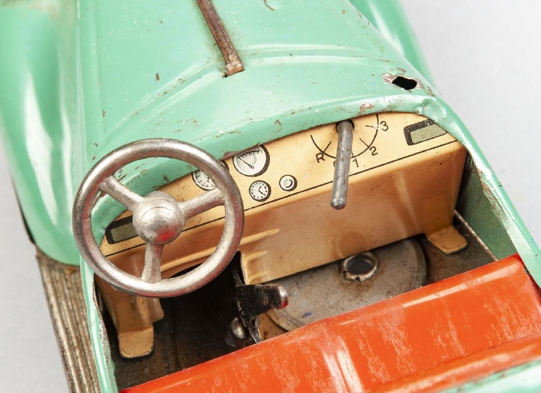 Distler D-3200 Tin Litho Mechanical Roadster - 3