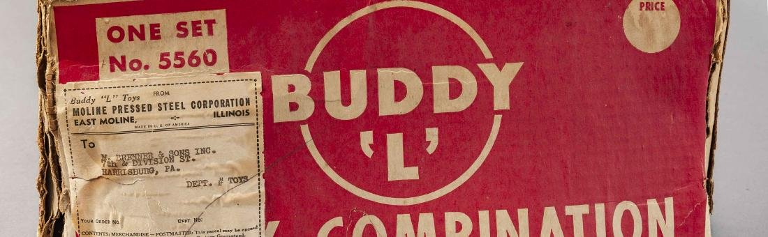 Buddy L Army Combination 5560 in OB - 8