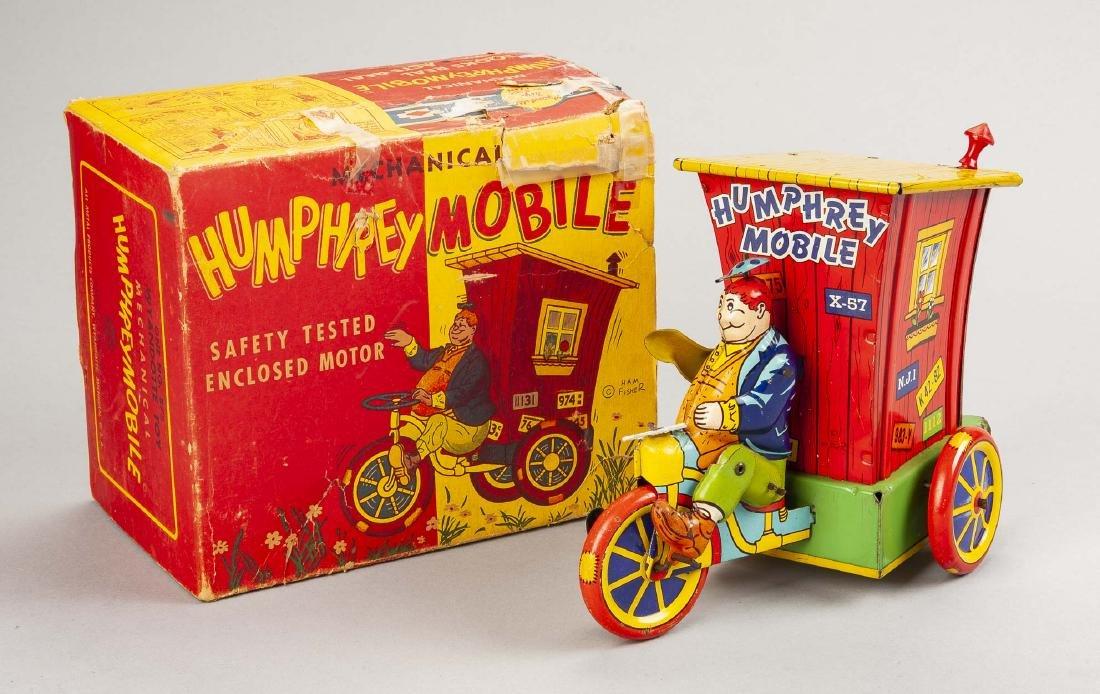 Tin Litho Mechanical Humphrey Mobile in OB