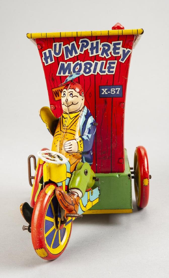 Tin Litho Mechanical Humphrey Mobile in OB - 3