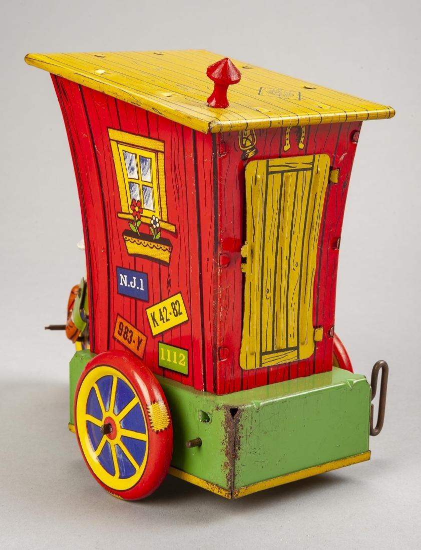 Tin Litho Mechanical Humphrey Mobile in OB - 4