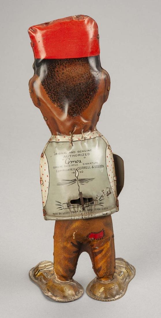 Marx Tin Litho Wind-Up Amos Walking Figure - 2