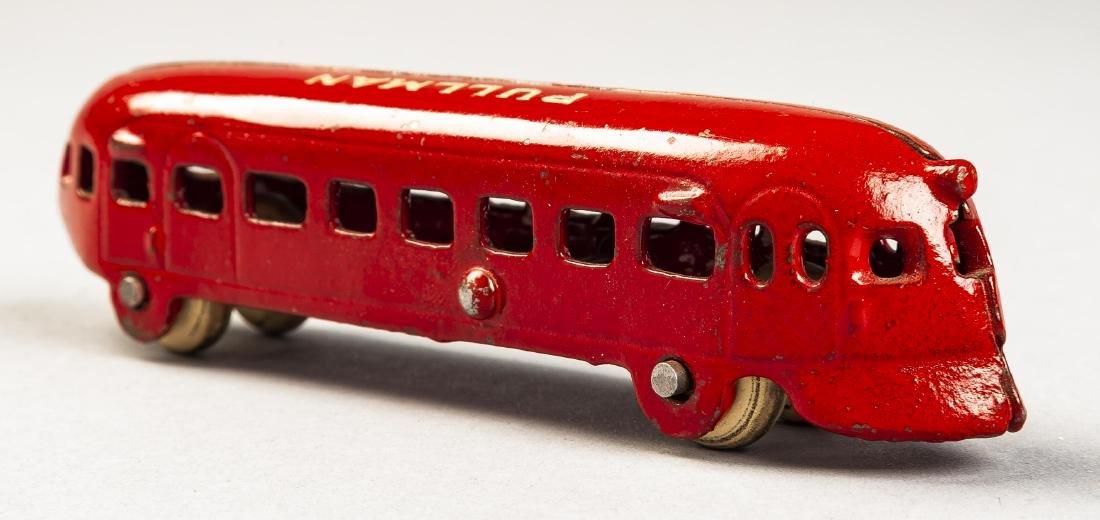 Arcade Cast Iron Pullman Railplane
