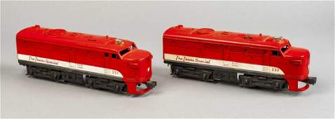 Lionel 210210 Texas Special Alco AA Units in OBs
