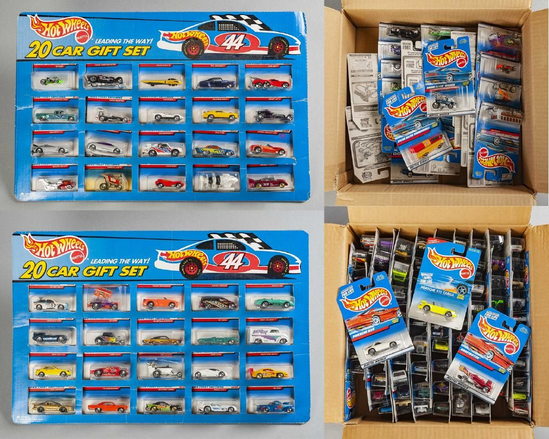 Approx. 150 Mattel Hot Wheels Toys in OBs