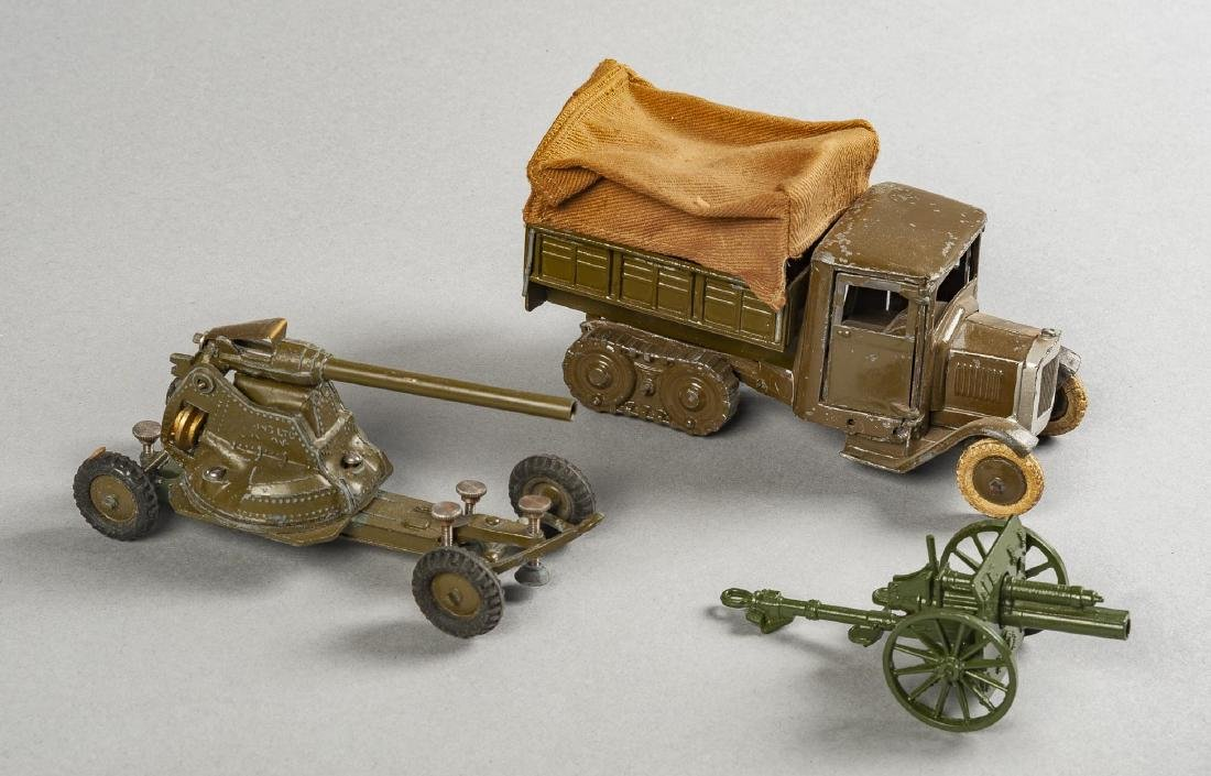 3 Toy Soldier Accessories in OBs Incl Britains - 2