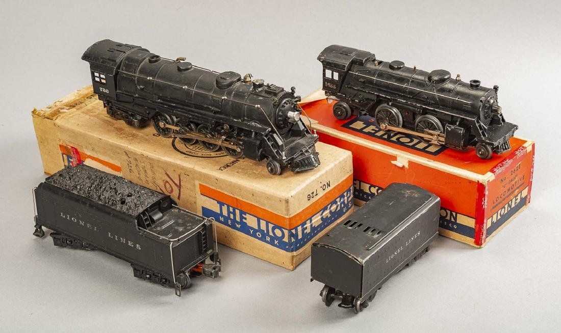 2 Lionel Steam Locomotives with Tenders