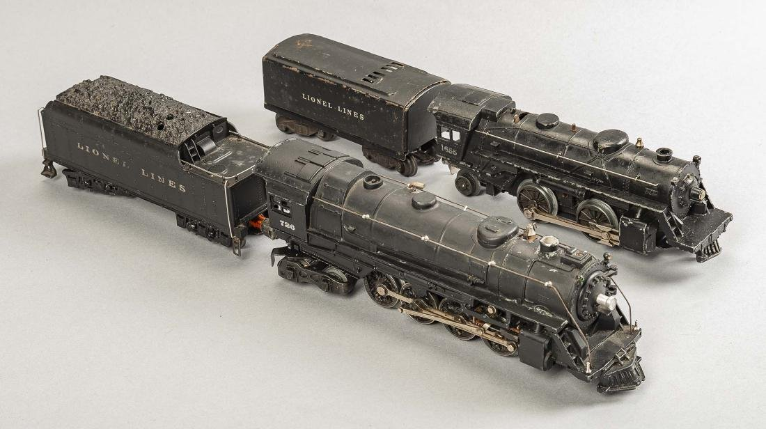 2 Lionel Steam Locomotives with Tenders - 2