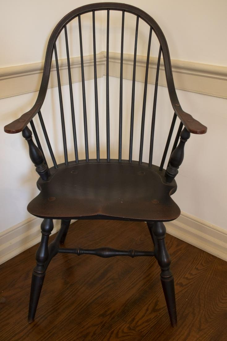 Set 8 Windsor Chairs - 2