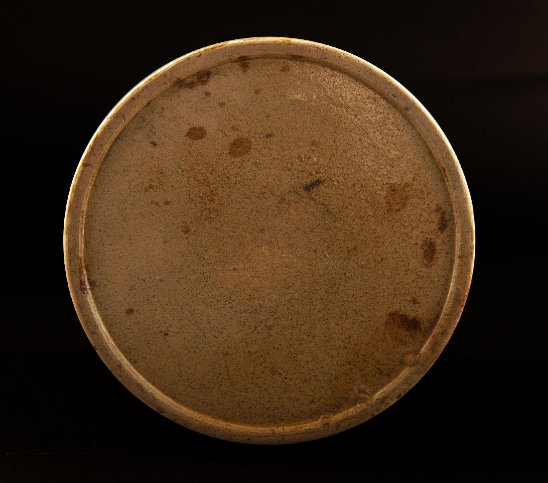 Early Cylindrical Redware Jar - 2