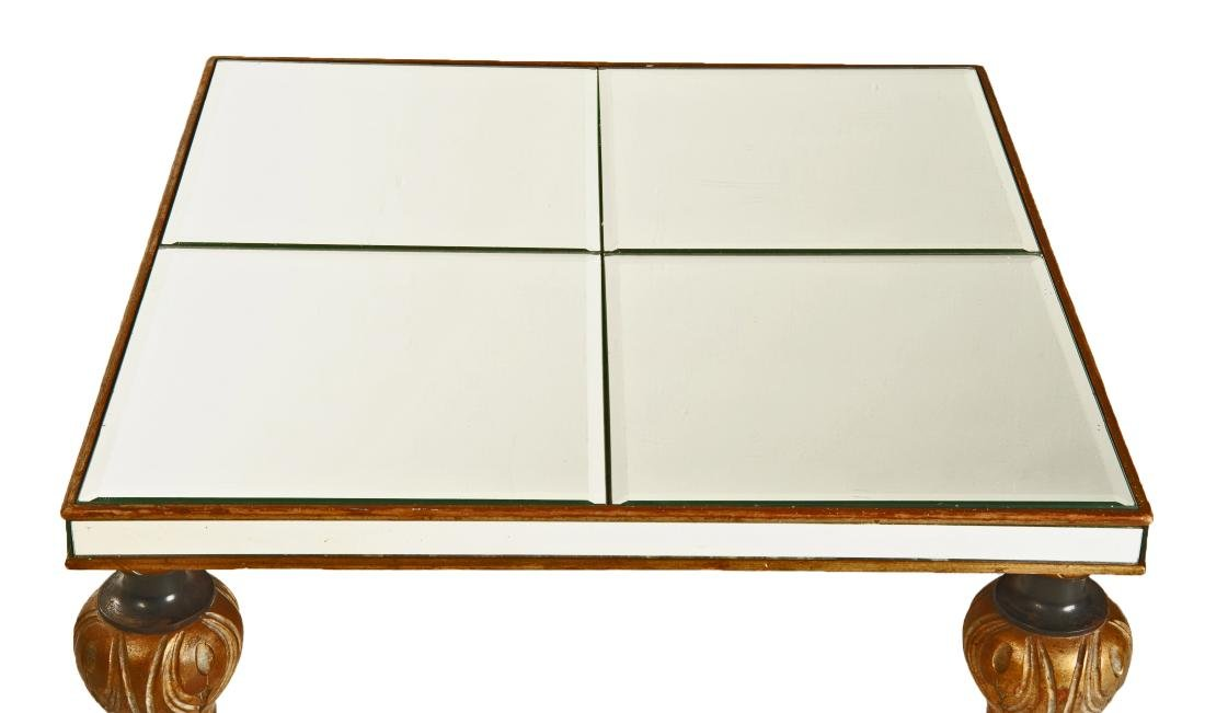 Contemporary Mirrored Side Table - 4