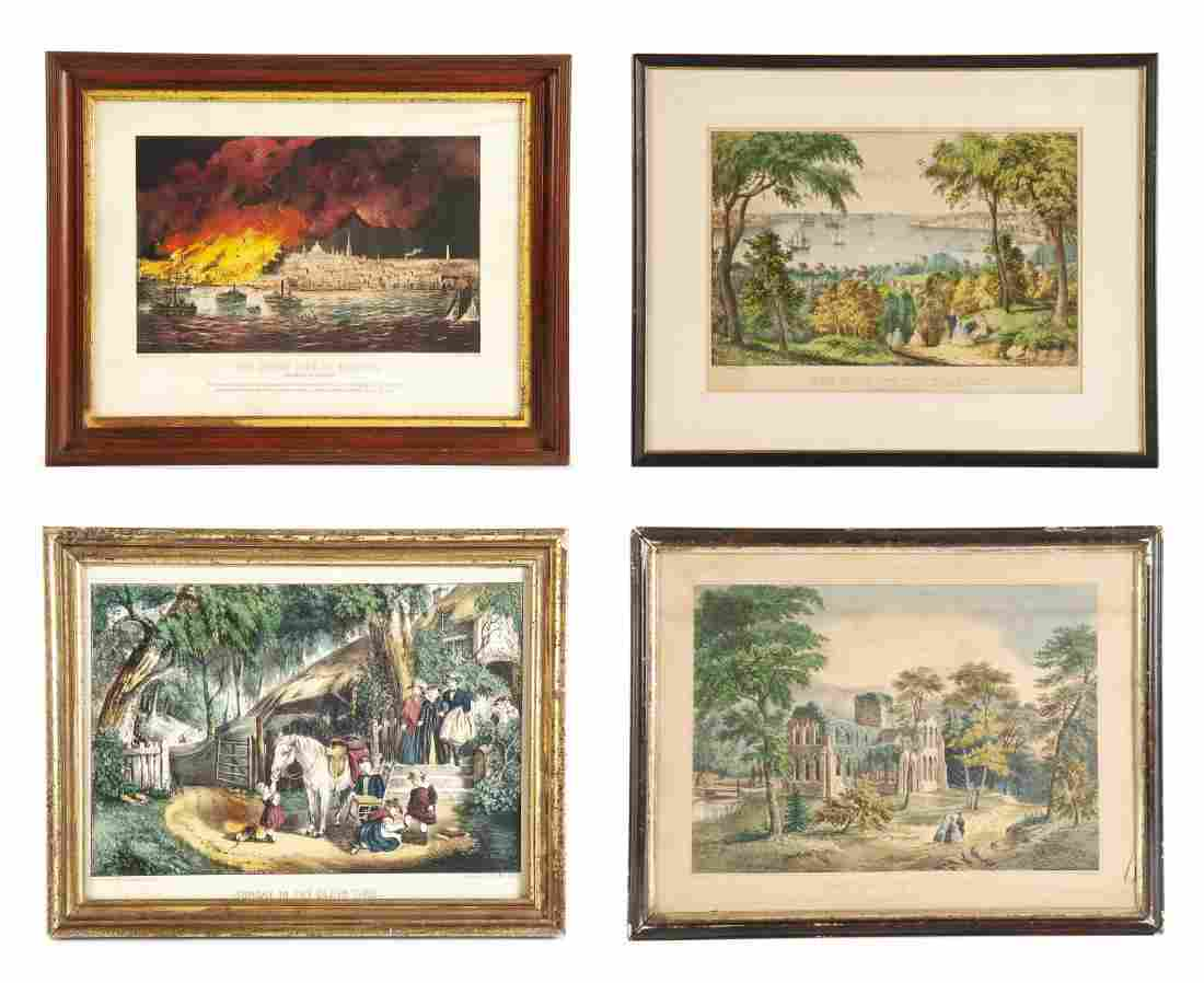 4 Currier & Ives (American, 19th Century)