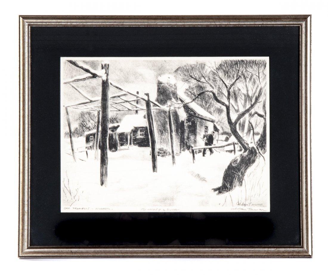 4 pcs Talbot Alden Turner (Pennsylvania, 20th C.) - 10