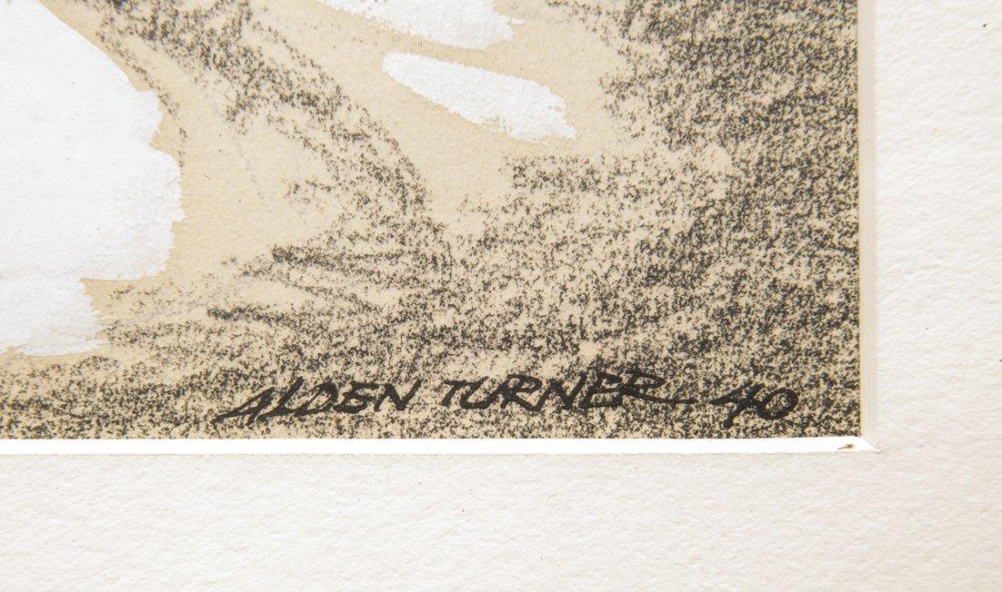 4 pcs Talbot Alden Turner (Pennsylvania, 20th C.) - 2