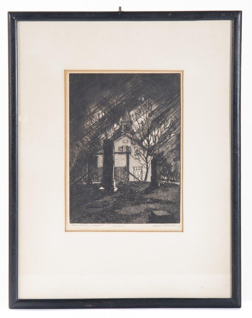 4 pcs Talbot Alden Turner (Pennsylvania, 20th C.) - 4