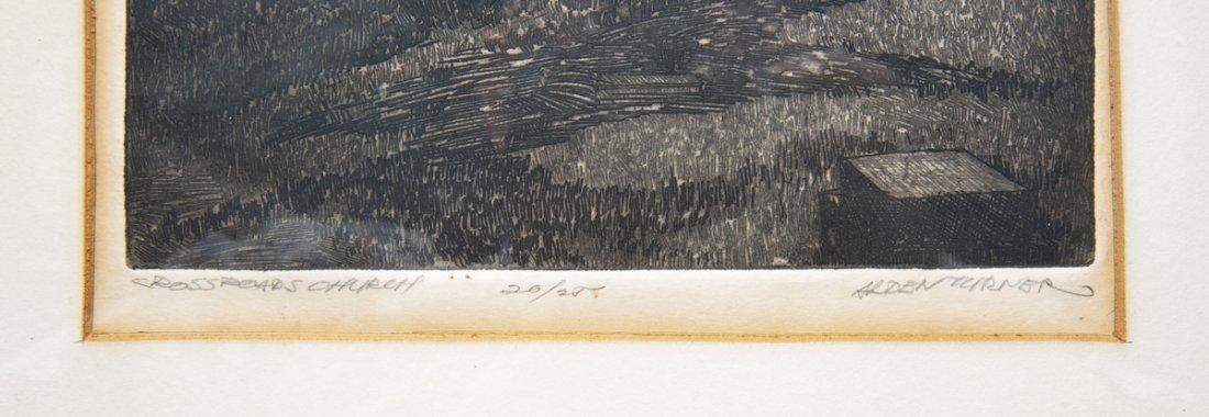 4 pcs Talbot Alden Turner (Pennsylvania, 20th C.) - 5