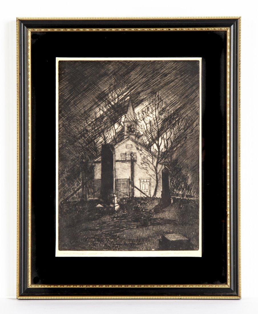 4 pcs Talbot Alden Turner (Pennsylvania, 20th C.) - 7