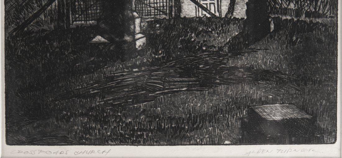 4 pcs Talbot Alden Turner (Pennsylvania, 20th C.) - 8