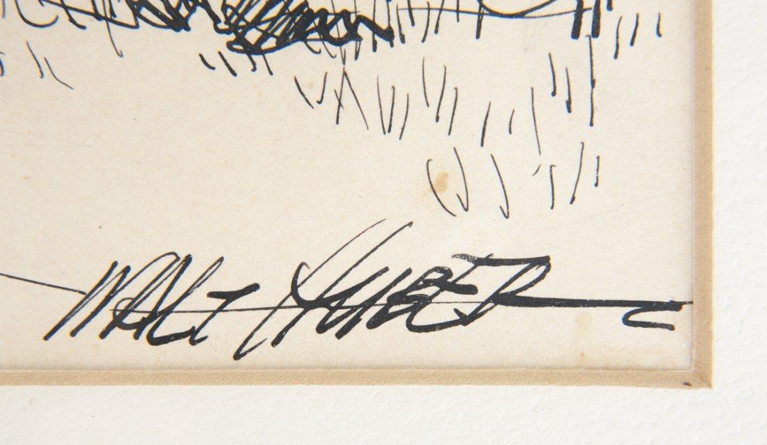 3 pcs Walter Huber (Pennsylvania, 1886-1961) - 8