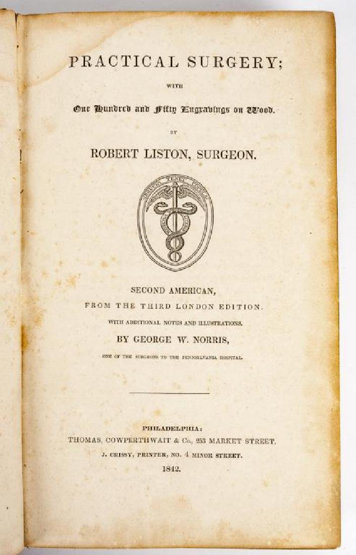 4 19th C. Medical Books Incl. Yarnall Surgical - 4