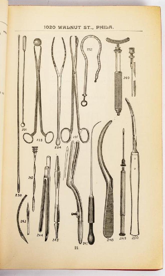 4 19th C. Medical Books Incl. Yarnall Surgical - 8