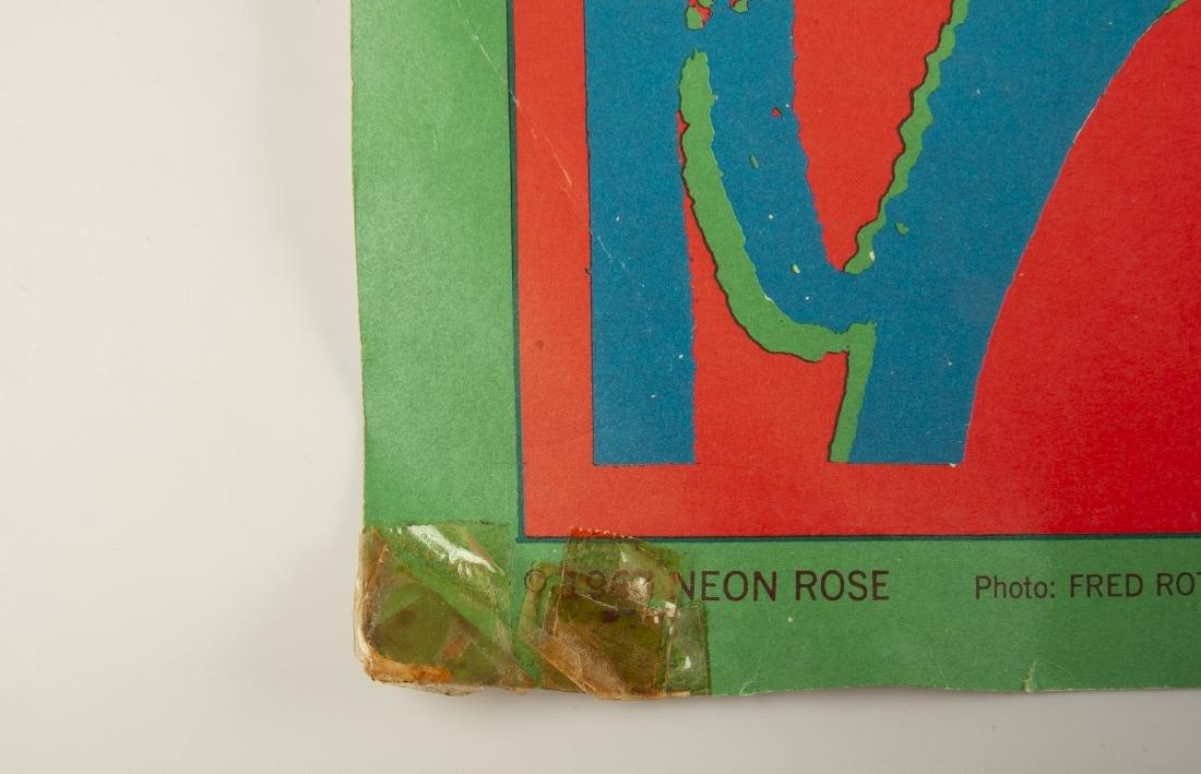 2 1967 Concert Posters Incl The Doors - 6