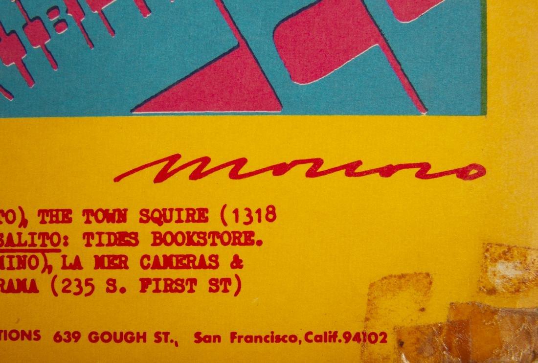 2 1967 Concert Posters Incl The Doors - 9