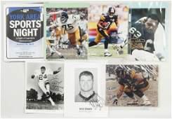 Football  Baseball Autographs Inc Mean Joe Greene