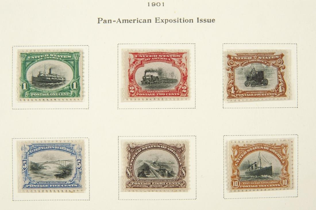 34 pcs U.S. Postage Exposition Issues 1901 1913 - 2