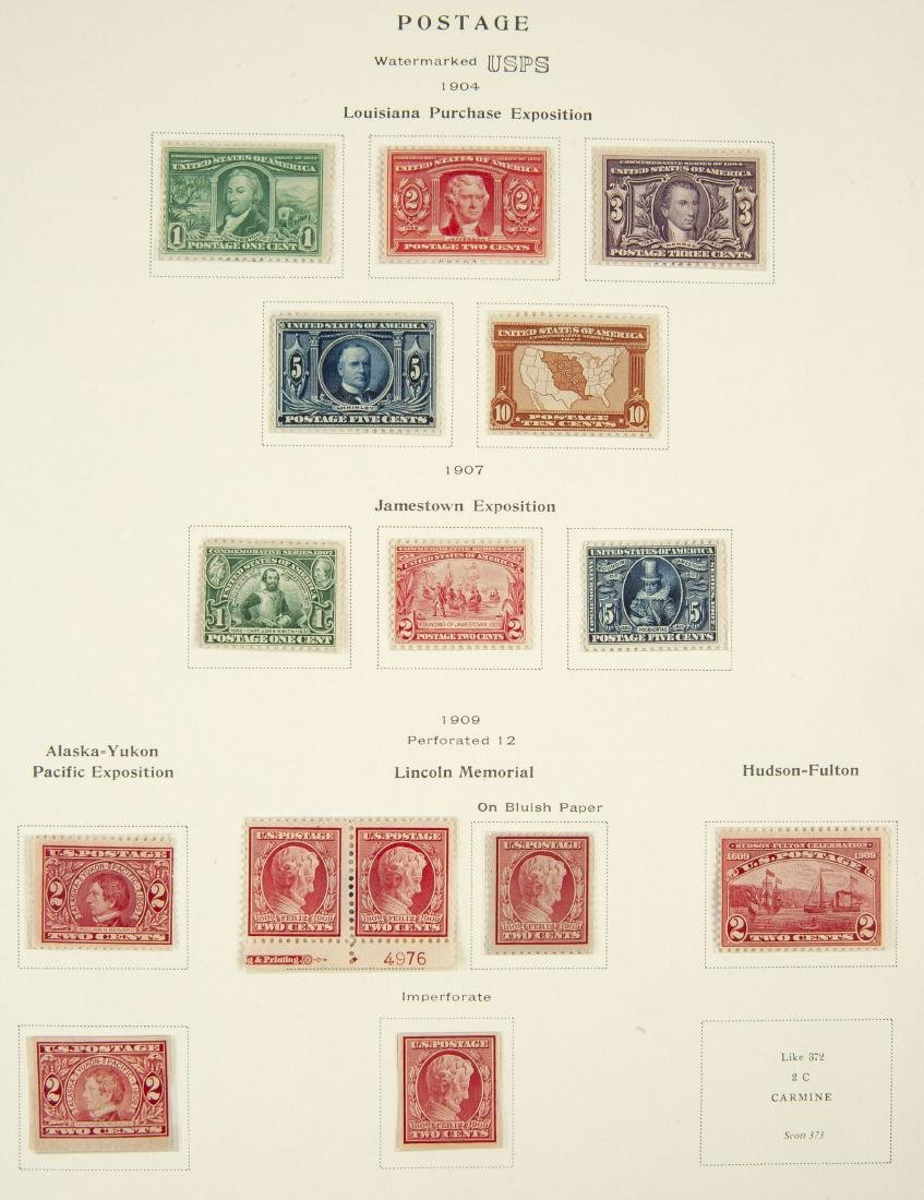 34 pcs U.S. Postage Exposition Issues 1901 1913 - 3