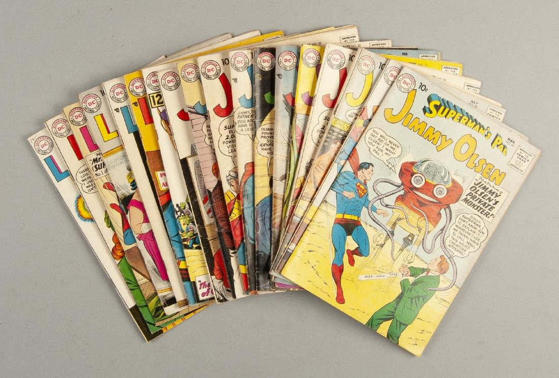 18 Lois Lane and Jimmy Olsen Comics