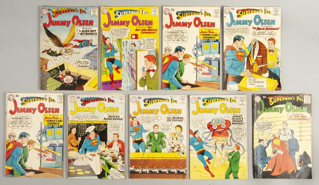 18 Lois Lane and Jimmy Olsen Comics - 2