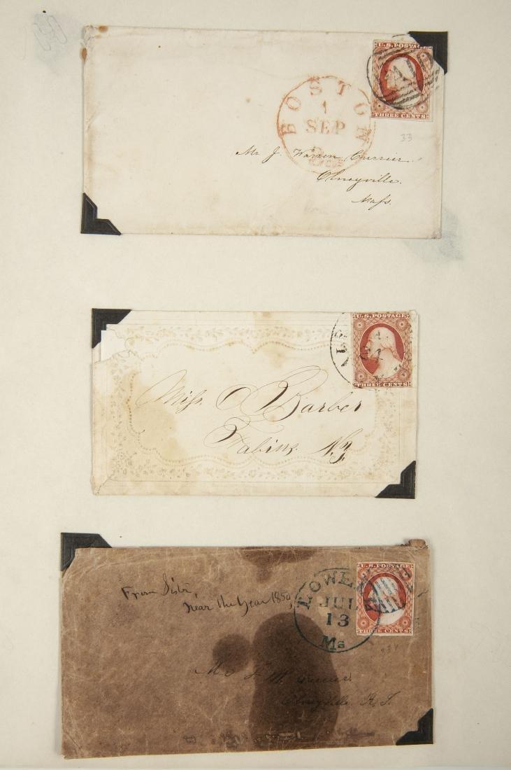 15 19th Century U.S. Covers - 2