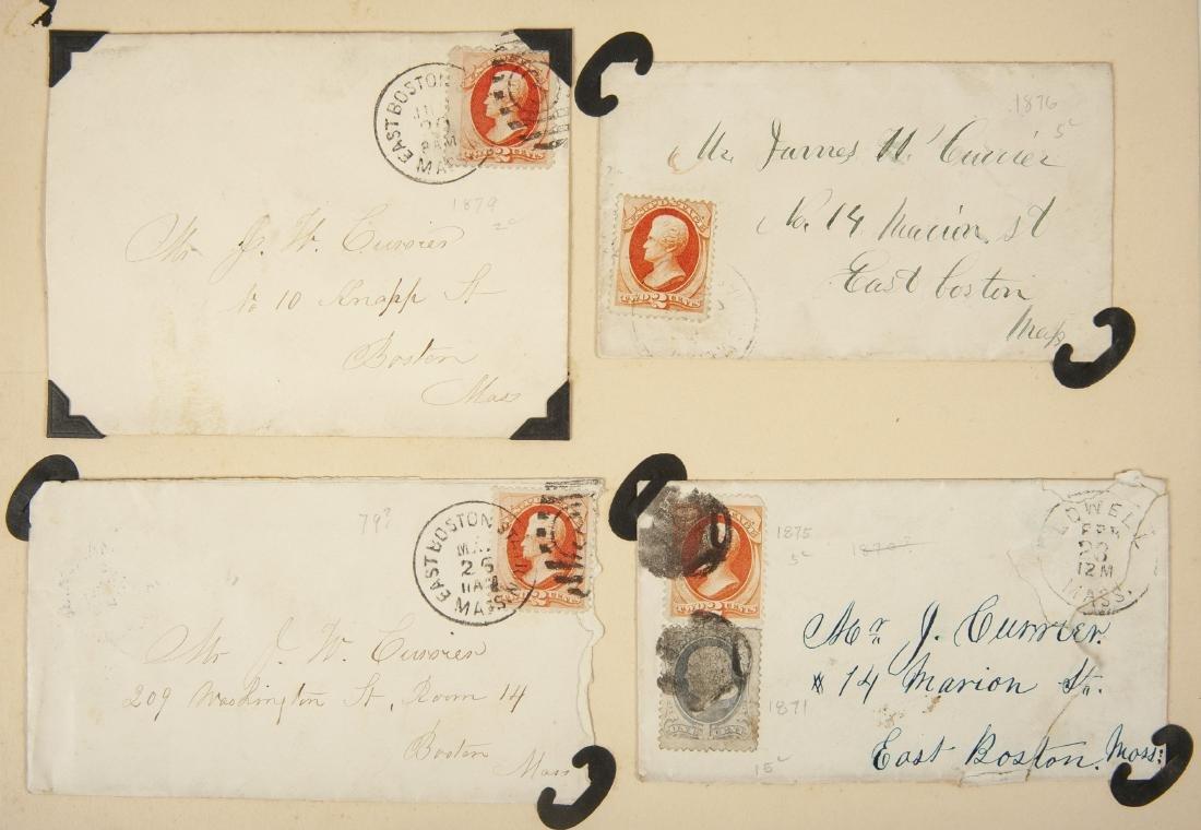 15 19th Century U.S. Covers - 4
